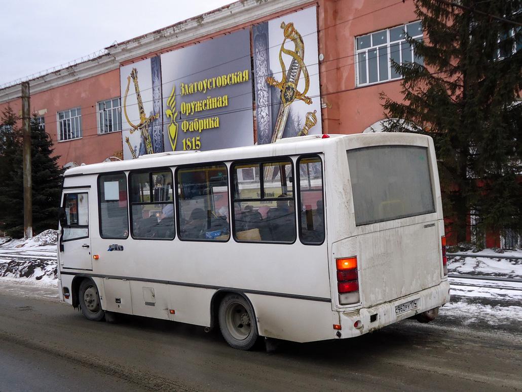 Златоуст. ПАЗ-320302-08 с962ру