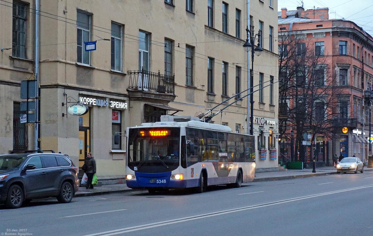 Санкт-Петербург. ВМЗ-5298.01 №5348