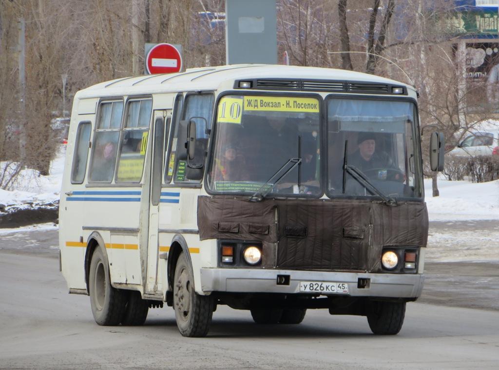 Шадринск. ПАЗ-32053-07 у826кс