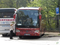 Варшава. Mercedes O580 Travego WPI 4NS9