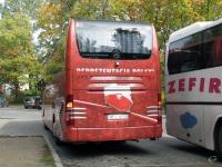 Варшава. Mercedes O580 Travego WPI 4NS9