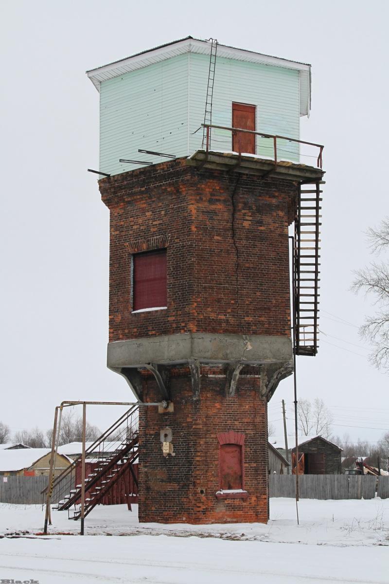 Рязань. Водонапорная башня