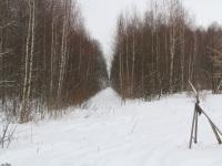Рязань. Вид на бывшие перегоны Гуреевский - Тумская (прямо) и Гуреевский - Голованова Дача (направо), РВУЖД