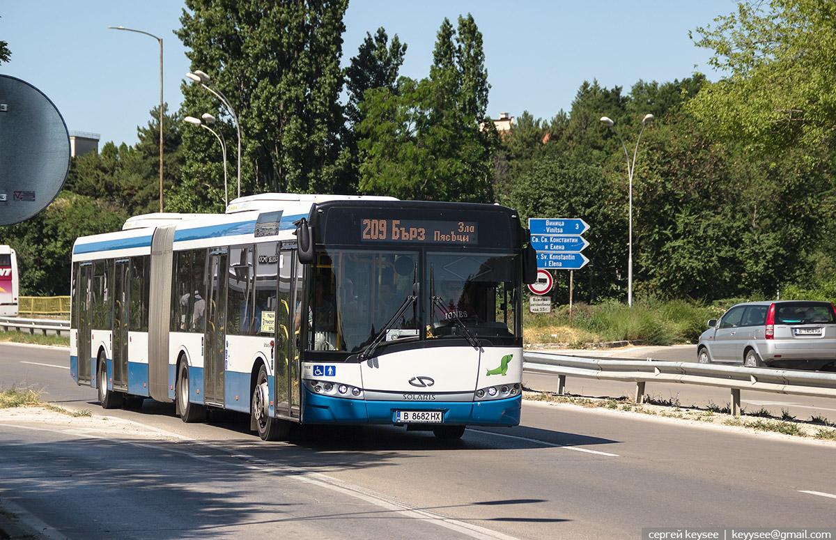 Варна. Solaris Urbino 18 В 8682 НХ