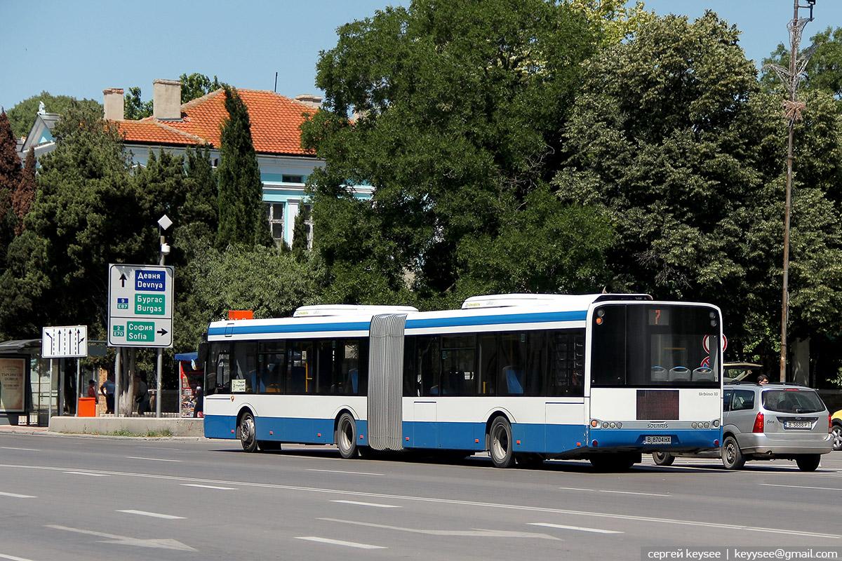 Варна. Solaris Urbino 18 В 8704 НХ