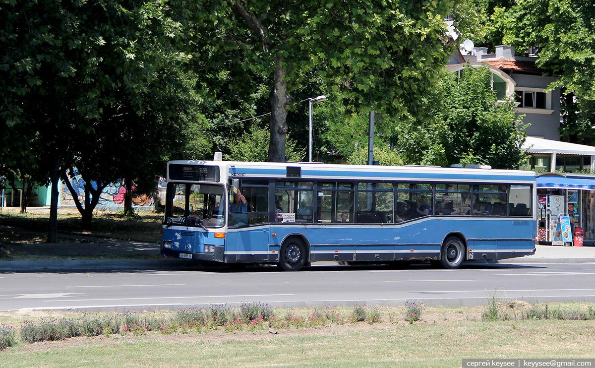 Варна. Mercedes O405N B 0955 KP