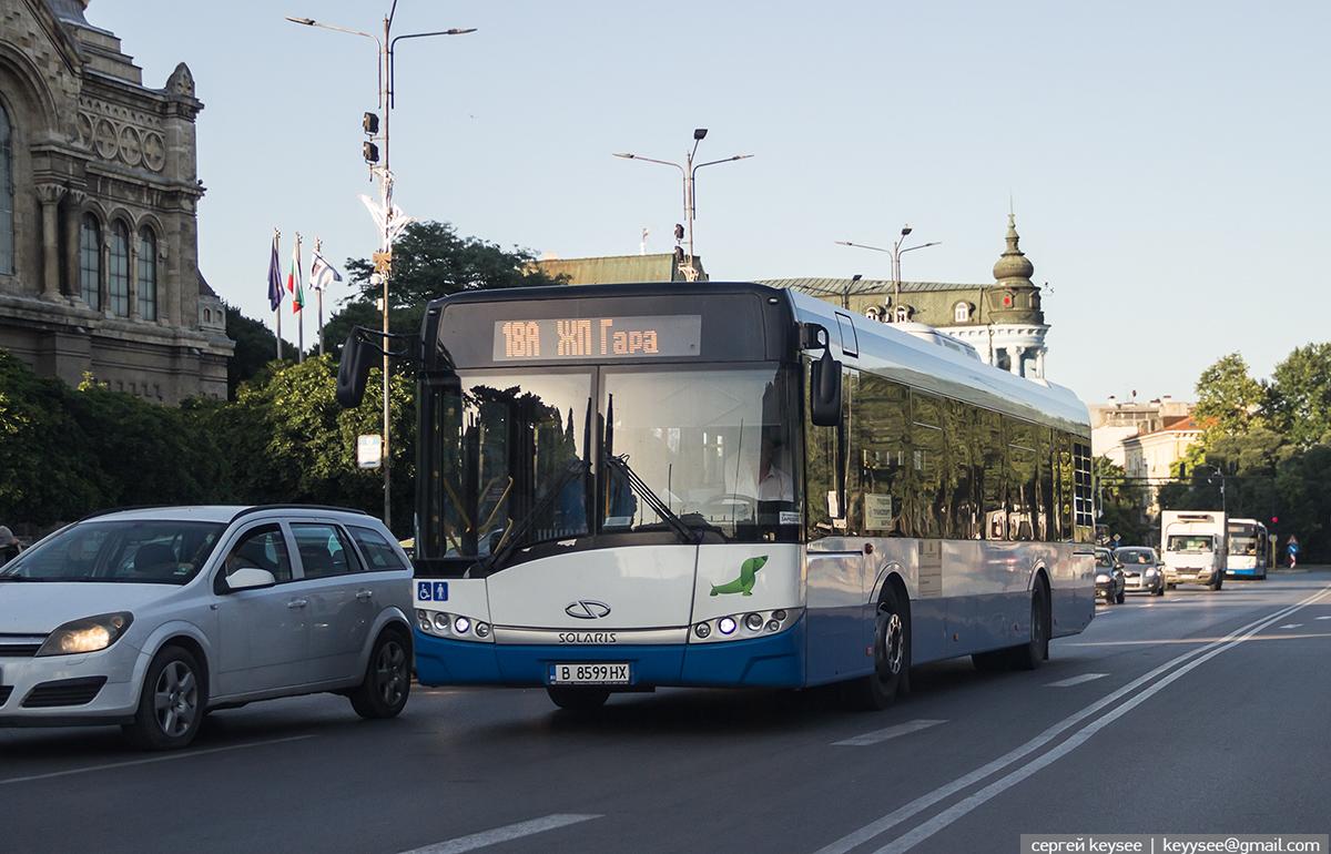 Варна. Solaris Urbino 12 В 8599 НХ