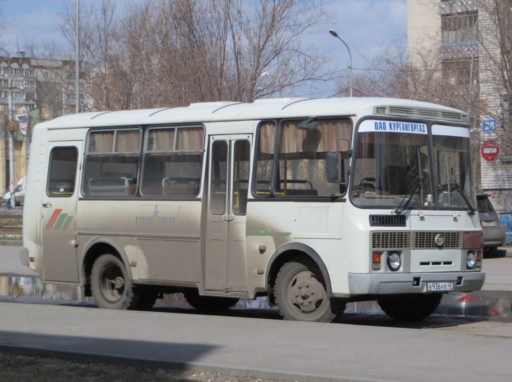 Курган. ПАЗ-32053 в936кв