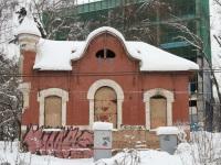 Москва. Закрытый вокзал бывшей станции Покровское-Стрешнево