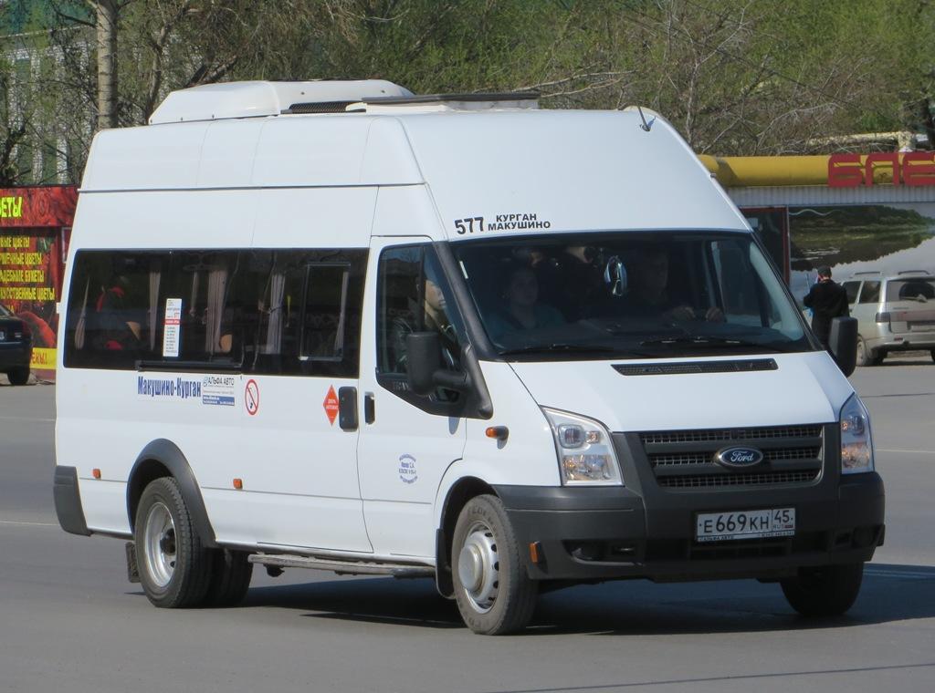 Курган. Промтех-2243 (Ford Transit) е669кн