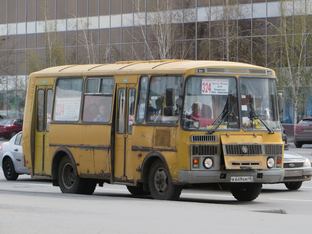 Курган. ПАЗ-32053-60 к649км