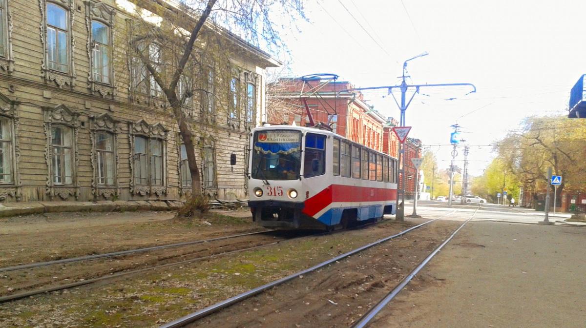 Томск. 71-608КМ (КТМ-8М) №315