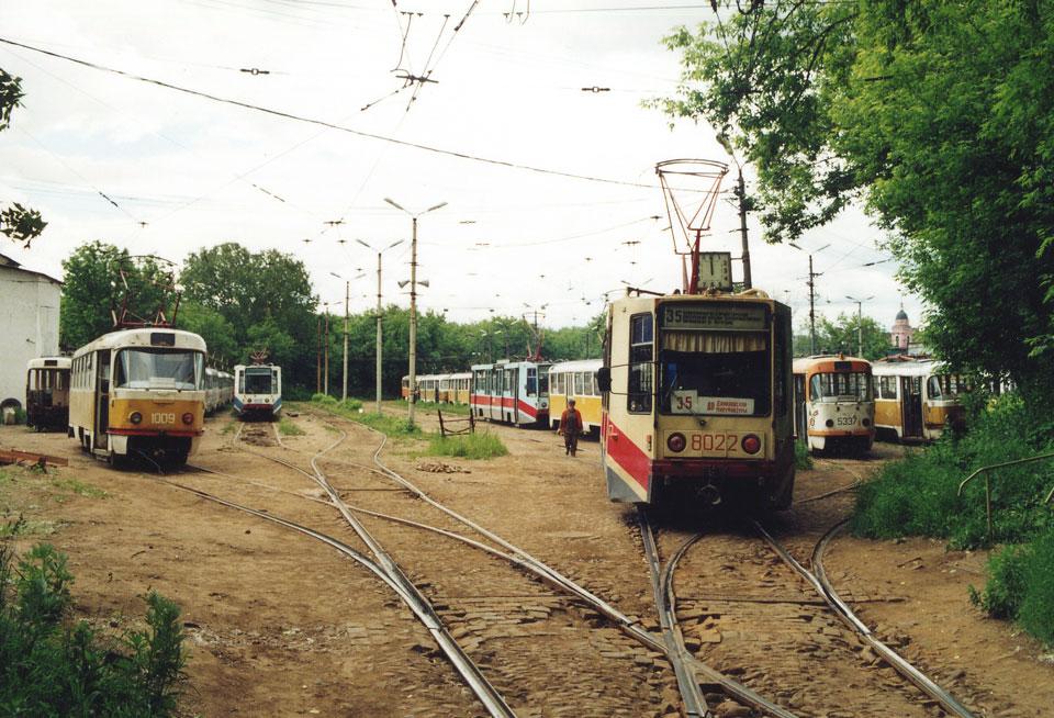 Москва. 71-608К (КТМ-8) №8022, Татра-Рейс №1009, Tatra T3SU №5337