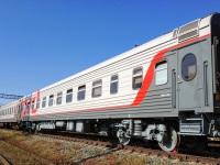 Челябинск. Пассажирский вагон № 10142