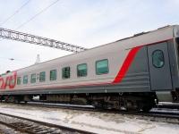 Челябинск. Пассажирский вагон № 20596