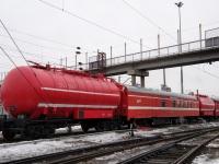 Челябинск. Пожарный поезд