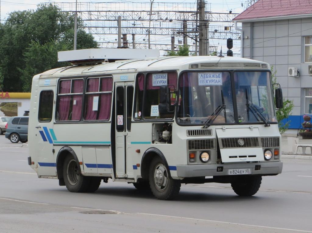 Курган. ПАЗ-32053 а824еу