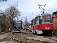 Николаев. К1 №2004, 71-605 (КТМ-5) №2085, ТК-28 №1001