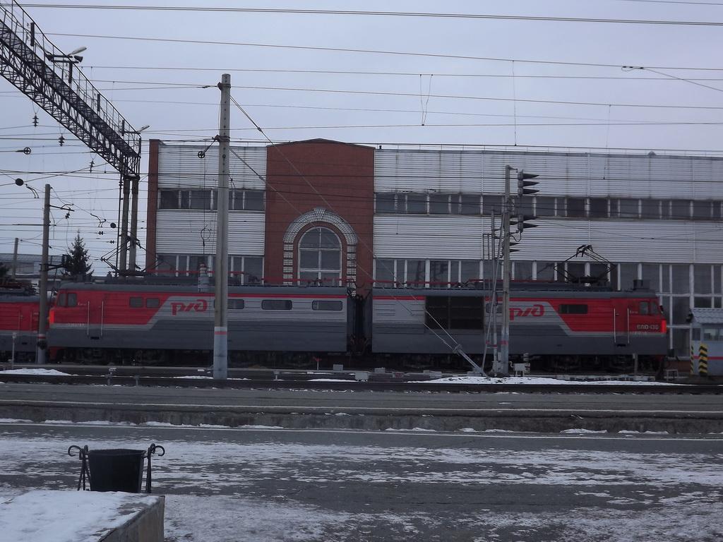 Курган. ВЛ10-136