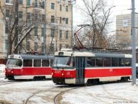 Москва. Tatra T3 (МТТЧ) №3443, Tatra T3 (МТТА-2) №2321