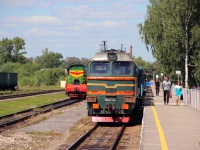 Гусь-Хрустальный. 2М62У-0353, ЧМЭ3-2030