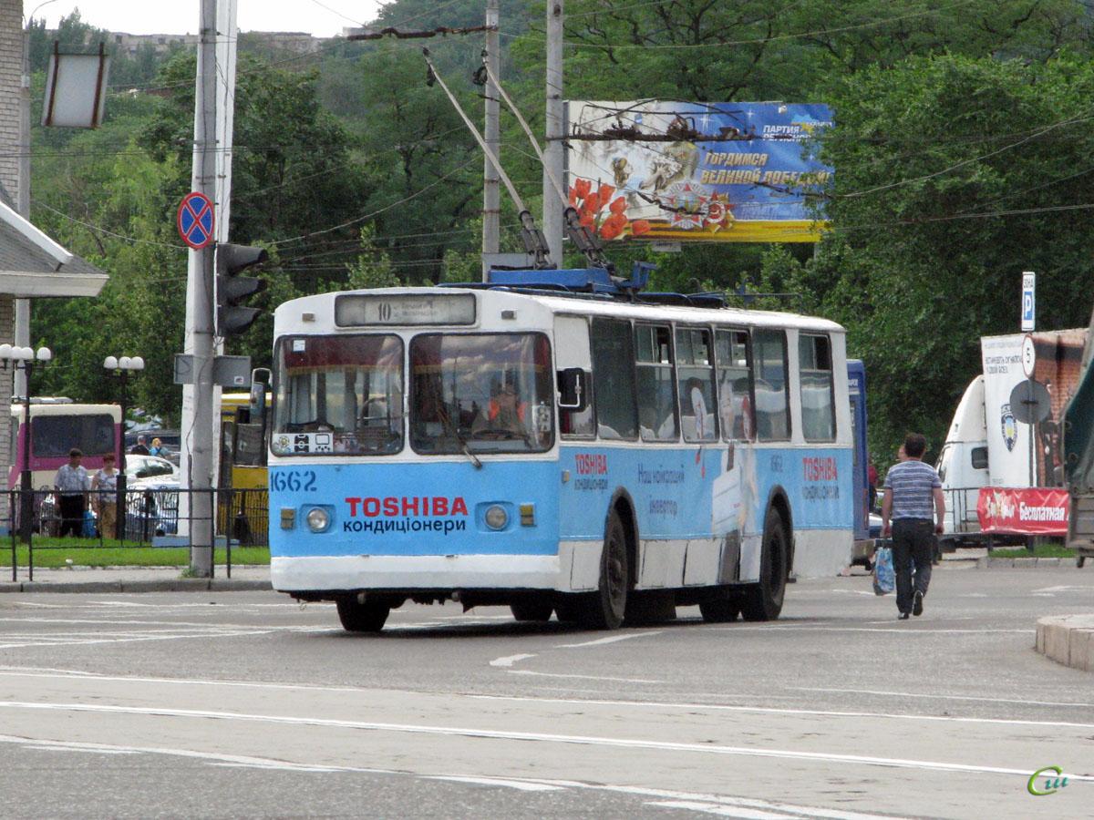 Донецк. ЗиУ-682В-013 (ЗиУ-682В0В) №1662