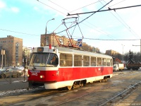 Москва. Tatra T3 (МТТЧ) №3445