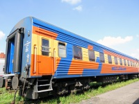 Санкт-Петербург. Пассажирский вагон № 81818 «Мегаполис»