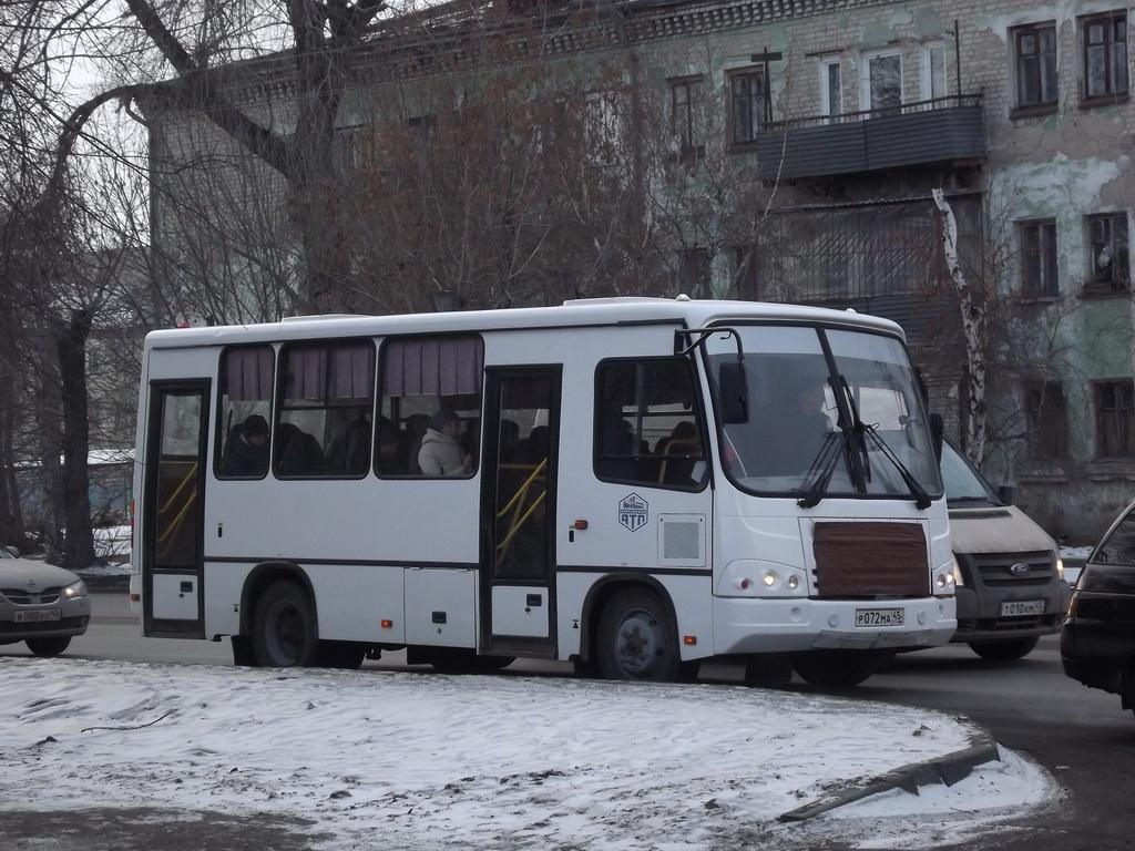 Курган. ПАЗ-320302-08 р072ма