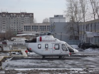 Курган. Вертолёт медицины катастроф Ансат