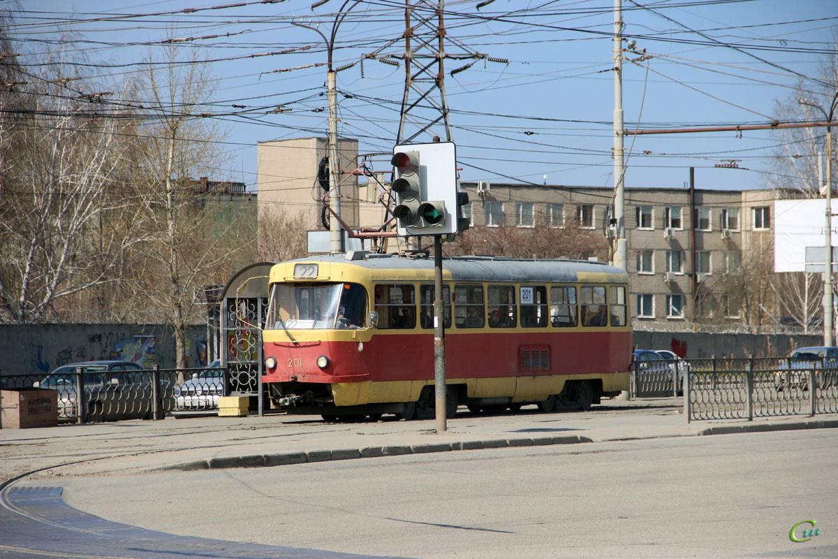 Екатеринбург. Tatra T3SU №201