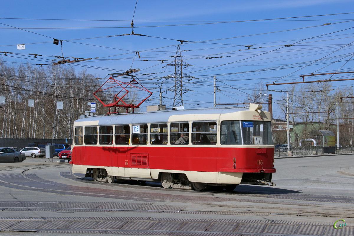 Екатеринбург. Tatra T3 (двухдверная) №116