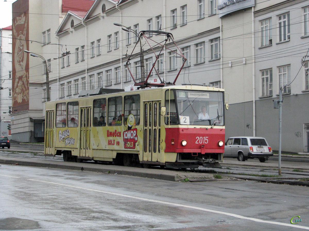 Ижевск. Tatra T6B5 (Tatra T3M) №2015