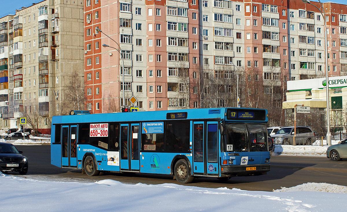 Нижневартовск. МАЗ-103.075 ас882