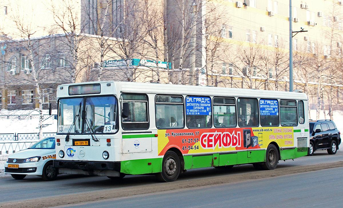 Нижневартовск. ЛиАЗ-5256.30 ак089
