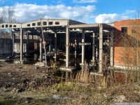 Санкт-Петербург. Недостроенно-заброшенные здания трамвайного парка № 11