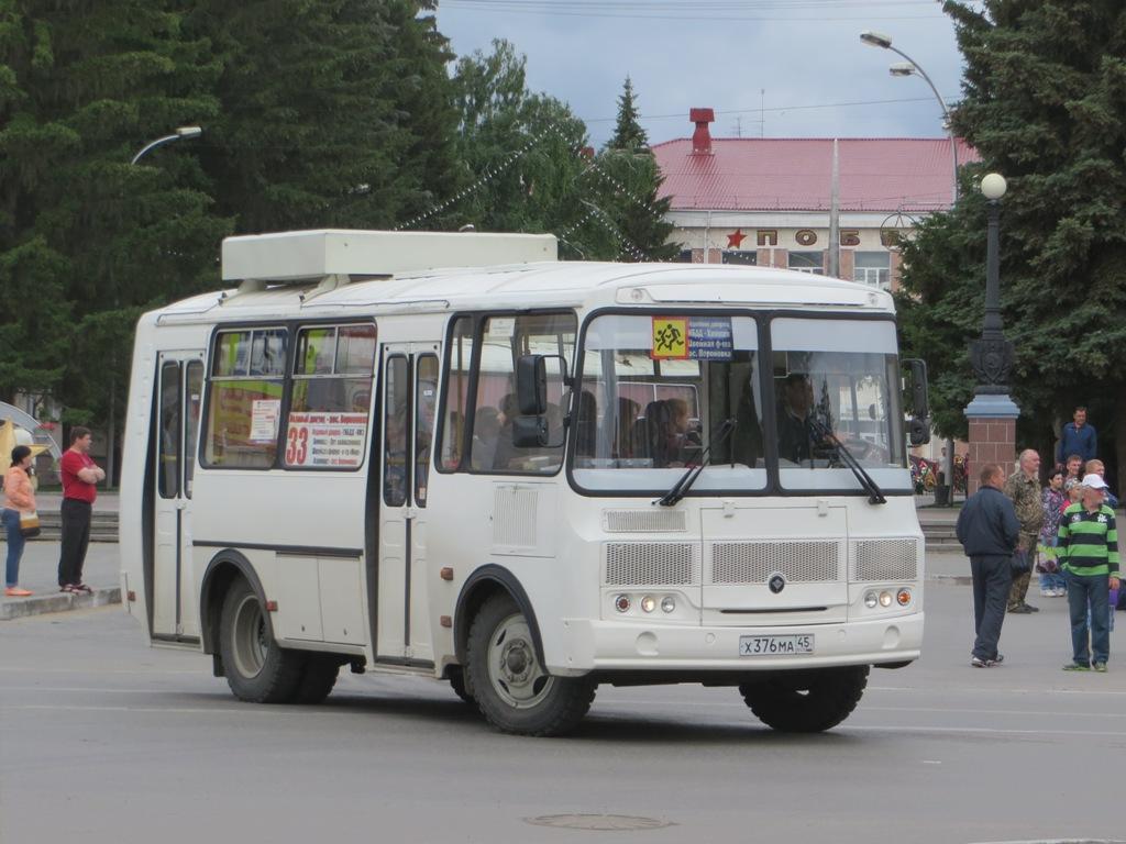 Курган. ПАЗ-32054 х376ма