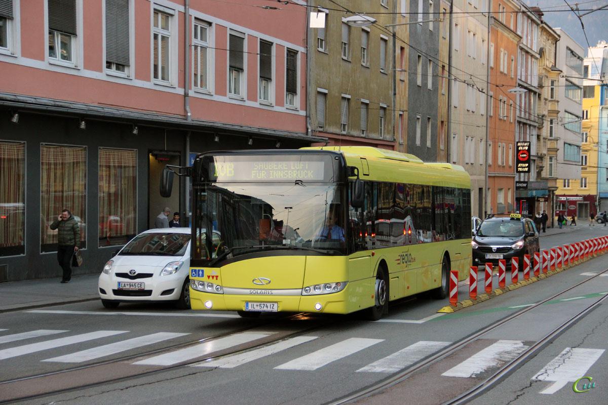 Инсбрук. Solaris Urbino 12 IL 574 IZ
