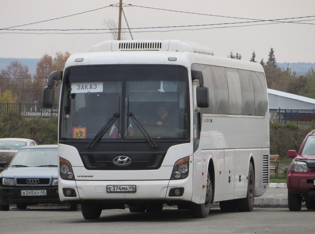 Курган. Hyundai Universe Space Luxury е374ма