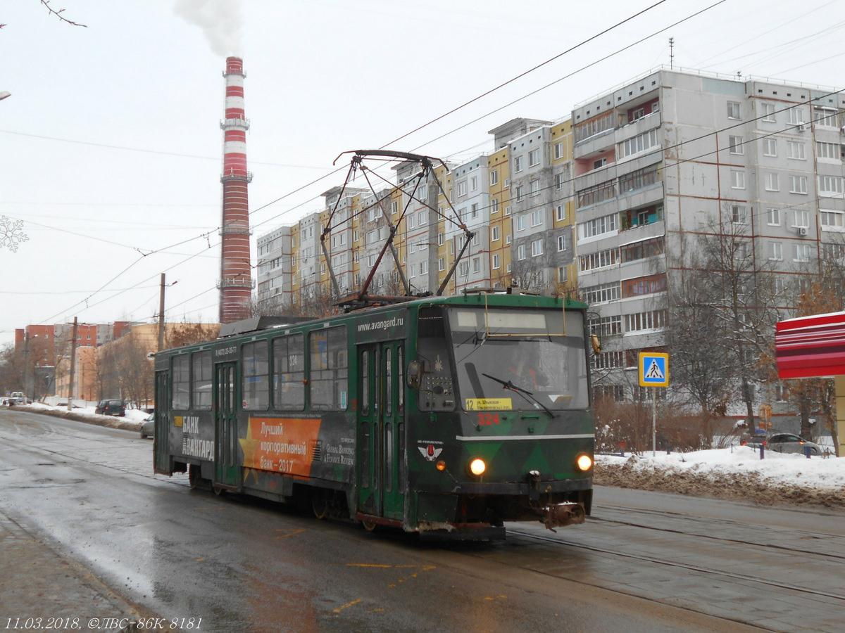 Тула. Tatra T6B5 (Tatra T3M) №324