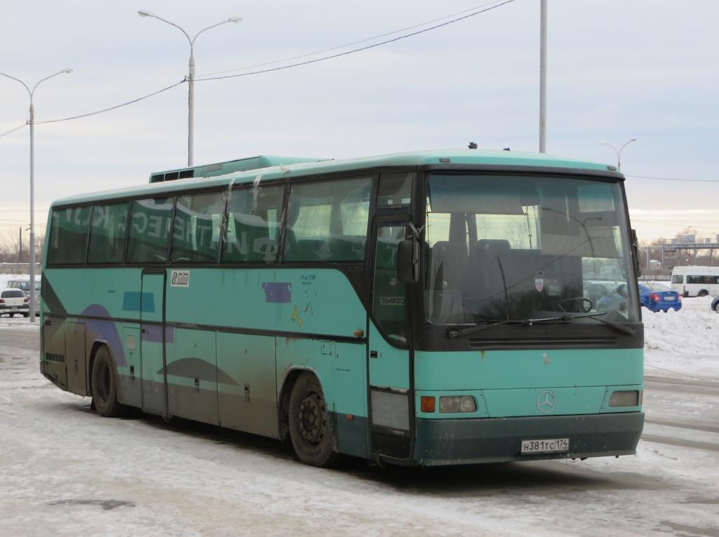 Курган. Mercedes O304 н381тс