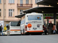 Карловы Вары. Karosa B952E 1K8 2850, Irisbus Crossway LE 12M 3K3 7640