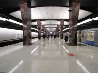 Москва. Станция Хорошёвская, Солнцевская и Большая кольцевая линии
