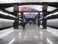 Москва. Станция ЦСКА, Солнцевская и Большая кольцевая линии