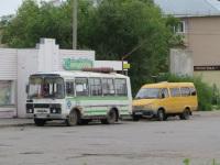 Шадринск. ПАЗ-32054 м932ех, ГАЗель (все модификации) м495мм