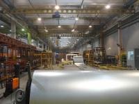 Цех с готовыми каркасами для будущей продукции завода