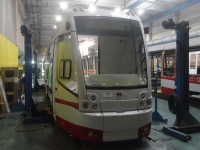 Трамвай АКСМ-802Е для Павлодара