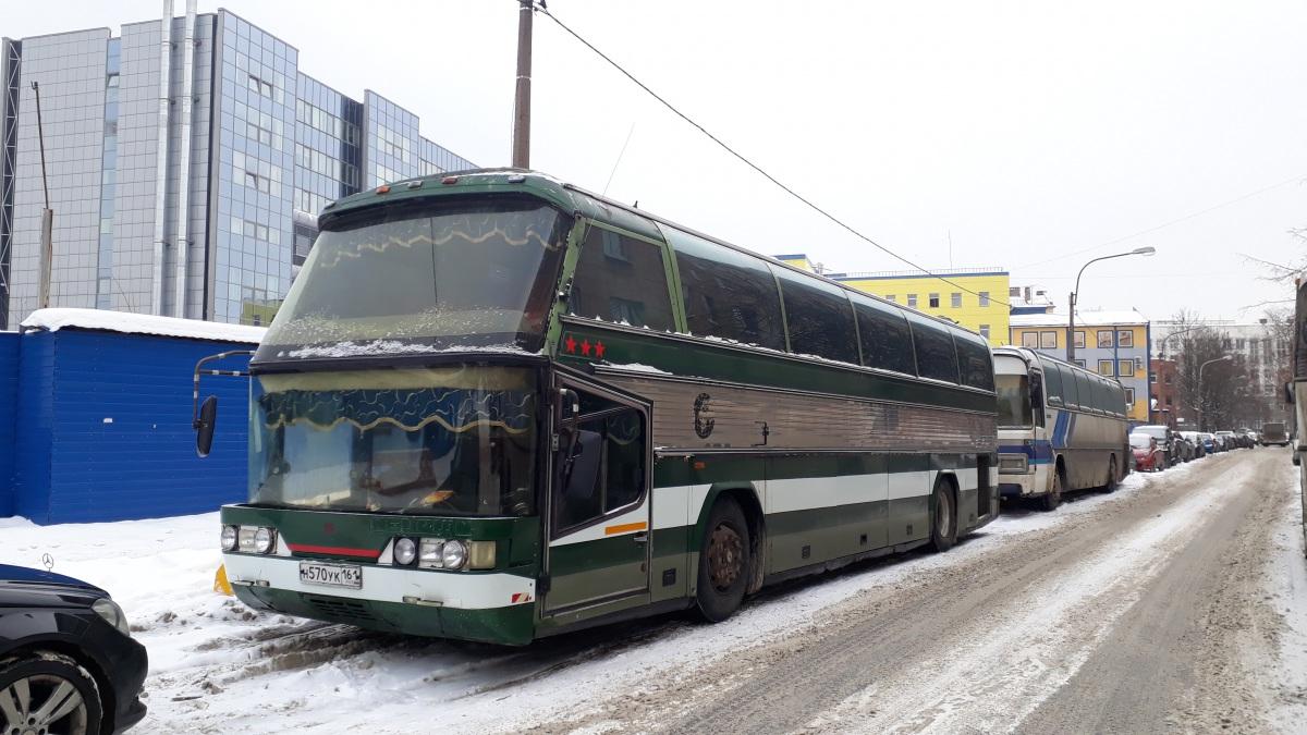 Санкт-Петербург. Neoplan N117 Spaceliner н570ук