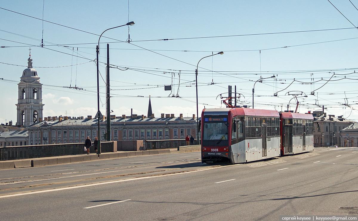 Санкт-Петербург. ЛМ-68М3 №3503