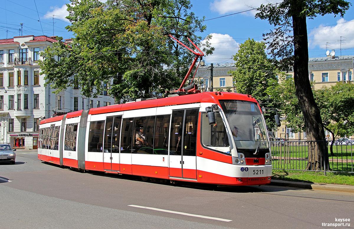 Санкт-Петербург. АКСМ-843 №5211
